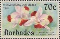 [The 14th World Orchid Conference - Glasgow, UK. Issue of 1992 Overprinted, Typ YQ1]