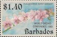 [The 14th World Orchid Conference - Glasgow, UK. Issue of 1992 Overprinted, Typ YR1]