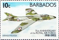 [The 75th Anniversary of Royal Air Force, Typ ZA]