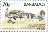 [The 75th Anniversary of Royal Air Force, Typ ZC]