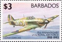 [The 75th Anniversary of Royal Air Force, Typ ZD]