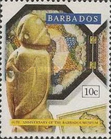 [The 60th Anniversary of Barbados Museum, Typ ZQ]