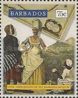 [The 60th Anniversary of Barbados Museum, Typ ZR]