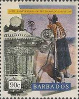 [The 60th Anniversary of Barbados Museum, Typ ZS]
