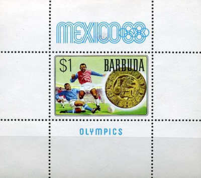 [Olympic Games - Mexico City, type ]