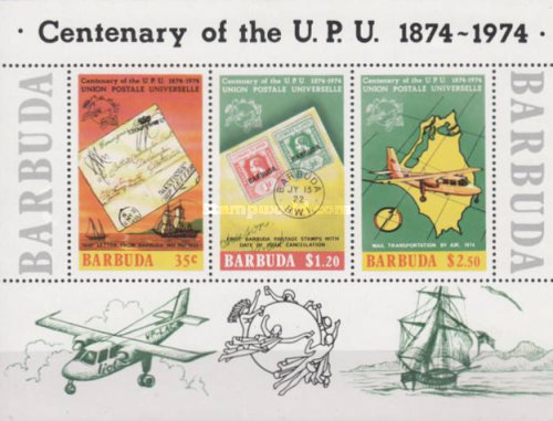 [The 100th Anniversary of the Universal Postal Union UPU, type ]