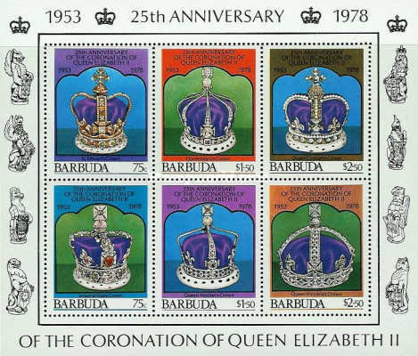 [The 25th Anniversary of the Coronation of Queen Elizabeth II, Typ ]