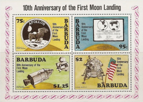 [The 10th Anniversary of Man Landing on the Moon, type ]