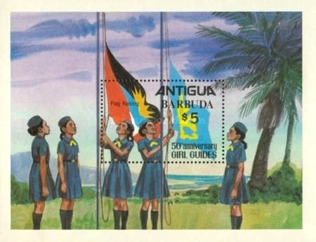 [The 50th Anniversary of the Girl Guides, type ]