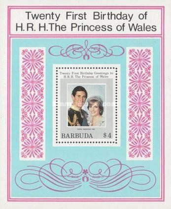 [The 21st Anniversary of the Birth of H.R.H. The Princess of Wales, type ]