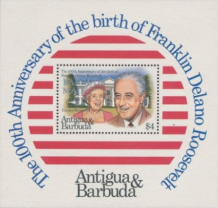 [Antigua and Barbuda Postage Stamps Overprinted