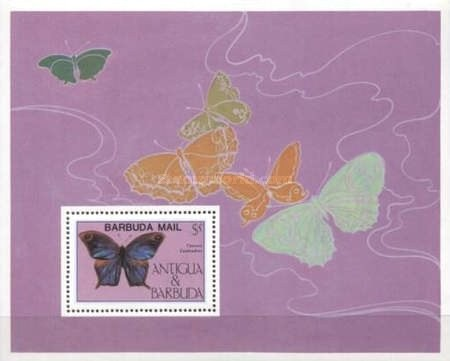 [Butterflies - Issue of 1985 of Antigua & Barbuda Overprinted