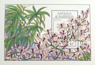 [Flowering Trees - Issue of 1988 of Antigua & Barbuda Overprinted