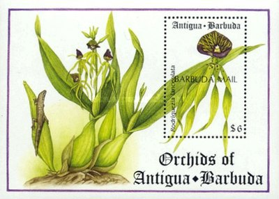 [Orchids - Issue of 1994 of Antigua & Barbuda Overprinted