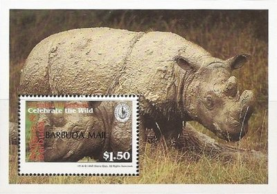 [The 100th Anniversary of Sierra Club - Endangered Species - Issue of 1994 of Antigua & Barbuda Overprinted