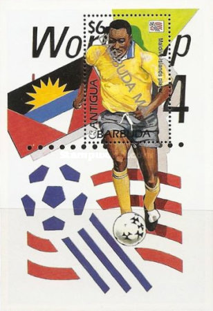 [Football World Cup - U.S.A - Issue of 1994 of Antigua & Barbuda Overprinted