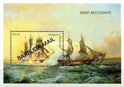 [Sailing Ships - Issue of 1996 of Antigua & Barbuda Overprinted