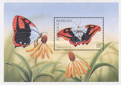 [Butterflies - Issue of 1997 of Antigua & Barbuda Overprinted