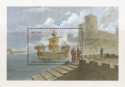[Ships of the World - Issue of 1998 of Antigua & Barbuda Overprinted