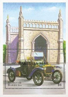 [Classic Cars - Issues of 1998 of Antigua & Barbuda Overprinted