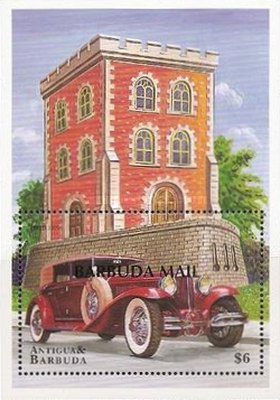 [Classic Cars - Issue of 1998 of Antigua & Barbuda Overprinted