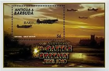 [The 60th Anniversary of the Battle of Britain - Issues of 2000 of Antigua & Barbuda Overprinted