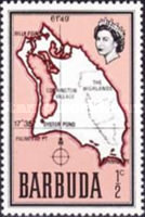[Map of Barbuda, type B]