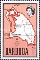[Map of Barbuda, type B1]