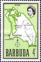 [Map of Barbuda, type B4]