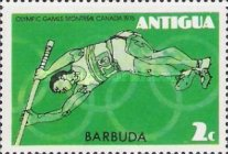 [Olympic Games - Montreal, Canada - Antigua Postage Stamps Overprinted