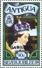 [The 25th Anniversary of the Coronation of Queen Elizabeth II - Antigua Postage Stamps Overprinted