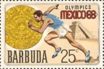 [Olympic Games - Mexico City, Mexico, type J]