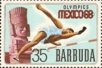 [Olympic Games - Mexico City, Mexico, type K]