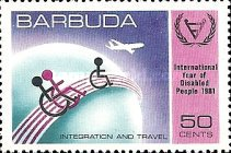 [International Year of the Disabled, type KE]
