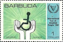 [International Year of the Disabled, type KG]