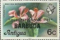 [Independence - Antigua Postage Stamps Overprinted, Typ KJ]