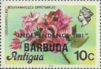 [Independence - Antigua Postage Stamps Overprinted, Typ KJ1]