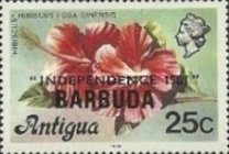 [Independence - Antigua Postage Stamps Overprinted, Typ KJ3]