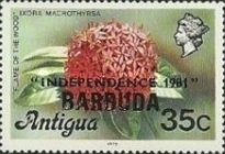 [Independence - Antigua Postage Stamps Overprinted, Typ KJ4]