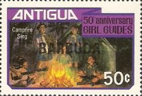 [The 50th Anniversary of the Girl Guides, type KK1]