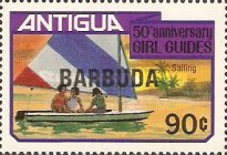 [The 50th Anniversary of the Girl Guides, type KK2]