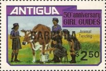 [The 50th Anniversary of the Girl Guides, type KK3]