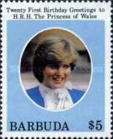 [The 21st Anniversary of the Birth of H.R.H. The Princess of Wales, Typ KT]