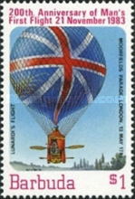 [The 200th Anniversary of Manned Flight - Balloons, type LC]