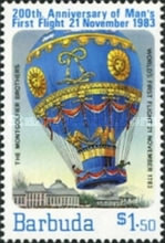 [The 200th Anniversary of Manned Flight - Balloons, Typ LD]