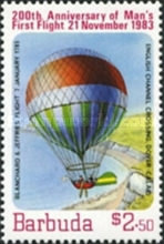 [The 200th Anniversary of Manned Flight - Balloons, Typ LE]