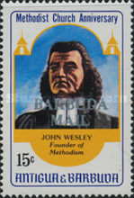 [The 200th Anniversary of the Methodist Church - Issues of 1983 of Antigua & Barbuda Overprinted