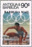 [Olympic Games - Los Angeles, USA - Issues of 1984 of Antigua & Barbuda Overprinted