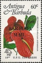 [Universal Postal Union Congress, Hamburg - Issues of 1984 of Antigua & Barbuda Overprinted