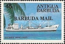 [Ships - Issues of 1984 of Antigua & Barbuda Overprinted